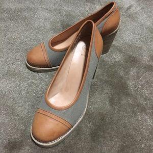 Swedish Hasbeens wooden heels